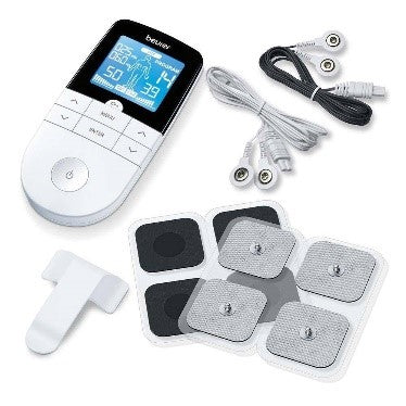 Electronic Muscle Stimulator (EMS) & Transcutaneous Electrical Nerve Stimulation (TENS) with Electrodes - Beurer EM49