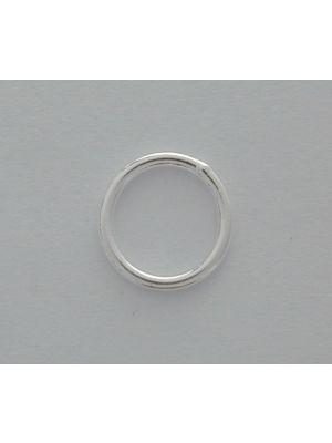 Sterling Silver Shiny Closed Jump Ring 7x0.7mm | Fashion Jewellery Outlet