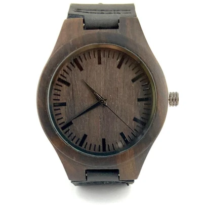 Wood Watch Only Gift for Him/ Her | Fashion Jewellery Outlet