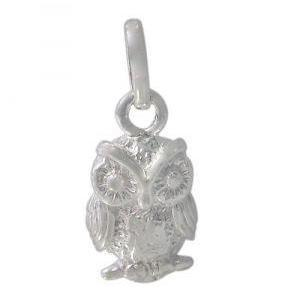 Sterling Silver Owl Charm | Fashion Jewellery Outlet