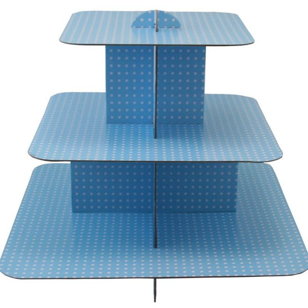 Cup Cake Stand, Light Blue | Fashion Jewellery Outlet