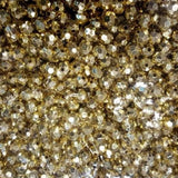 Acrylic Loose Bead, Gold | Fashion Jewellery Outlet