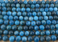 6mm Apatite Beads | Fashion Jewellery Outlet
