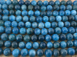 4mm Apatite Beads | Fashion Jewellery Outlet