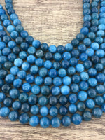 8mm Apatite Beads | Fashion Jewellery Outlet