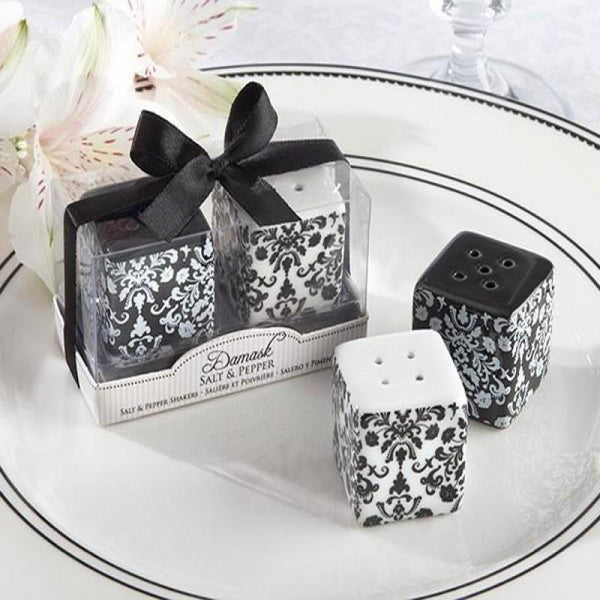 Damask Salt and Pepper Shaker | Fashion Jewellery Outlet