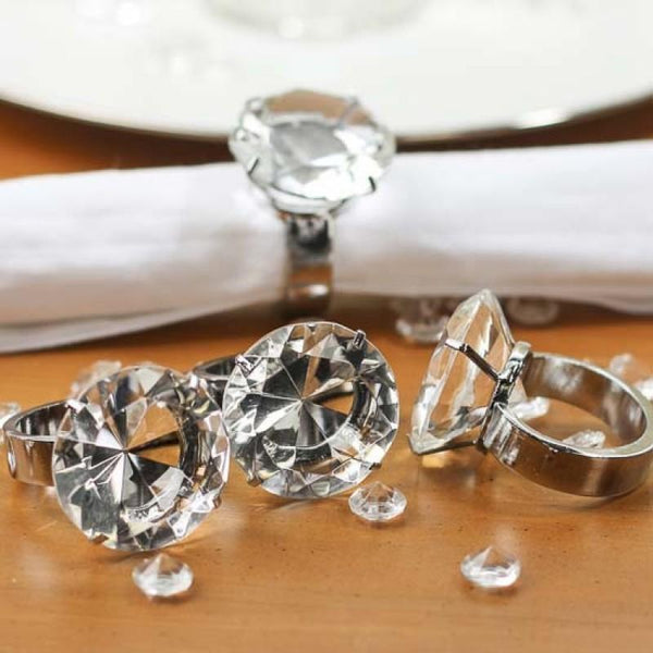 Diamond Napkin Ring | Fashion Jewellery Outlet