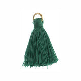 Poly Cotton Tassel, Green Thread Tassel, Thread | Fashion Jewellery Outlet
