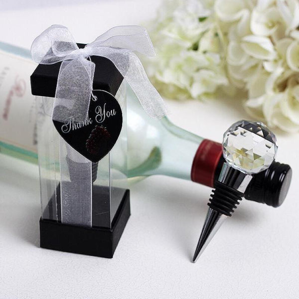 Crystal Ball Bottle Stoppers | Fashion Jewellery Outlet