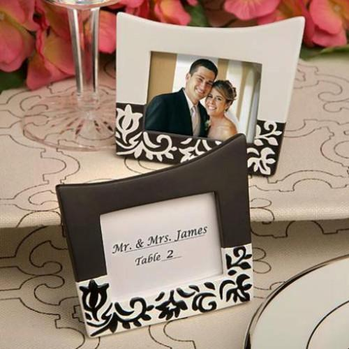 Damask Design Photo Frames/place card holders | Fashion Jewellery Outlet