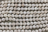4mm Beige Howlite Bead | Fashion Jewellery Outlet