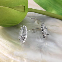 Cubic Zirconia Bridal Earrings, 18K Plated | Fashion Jewellery Outlet