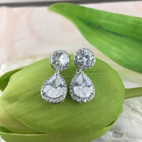 Bridal Cubic Zirconia Round | Fashion Jewellery Outlet
