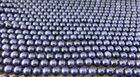 6mm Blue Sand Stone Bead | Fashion Jewellery Outlet