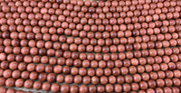 8mm Gold Sandstone Bead | Fashion Jewellery Outlet
