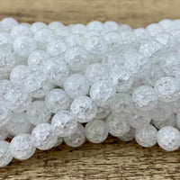 Crackled Quartz Bead | Fashion jewellery Outlet