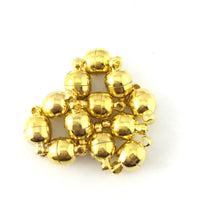 Small Size Magnetic Lock Set of 6, Gold | Fashion Jewellery Outlet