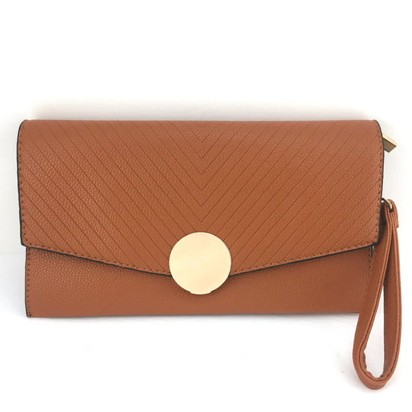Tan Clutch | Fashion Jewellery Outlet