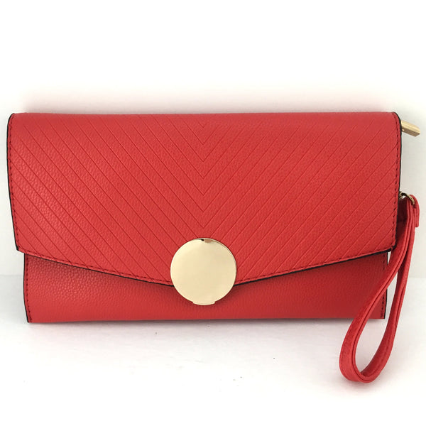 Red Clutch | Fashion Jewellery Outlet