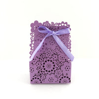Purple Paper Gift Box | Fashion Jewellery Outlet