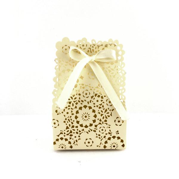 Ivory Paper Gift Box | Fashion Jewellery Outlet