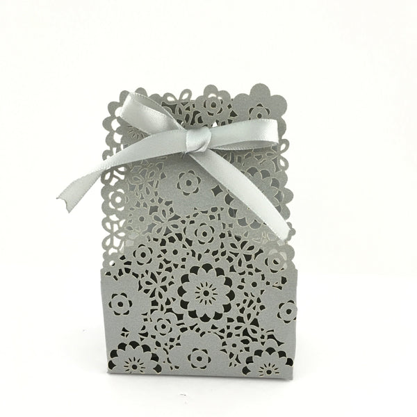 Grey Paper Gift Box | Fashion Jewellery Outlet