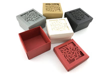 Square Laser Cut Paper Gift Box | Fashion Jewellery Outlet