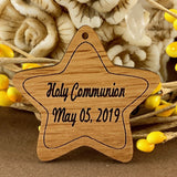 Communion Personalized Tags, Wooden Tag | Fashion Jewellery Outlet