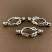 Knot Magnetic Jewelry Clasps 2 sets | Fashion Jewellery Outlet