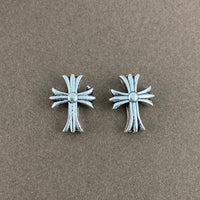 Cross Beads, Antique Silver | Fashion Jewellery Outlet