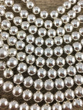 12mm Silver Hematite Bead | Fashion Jewellery Outlet