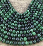 8mm Epidote Beads | Fashion Jewellery Outlet