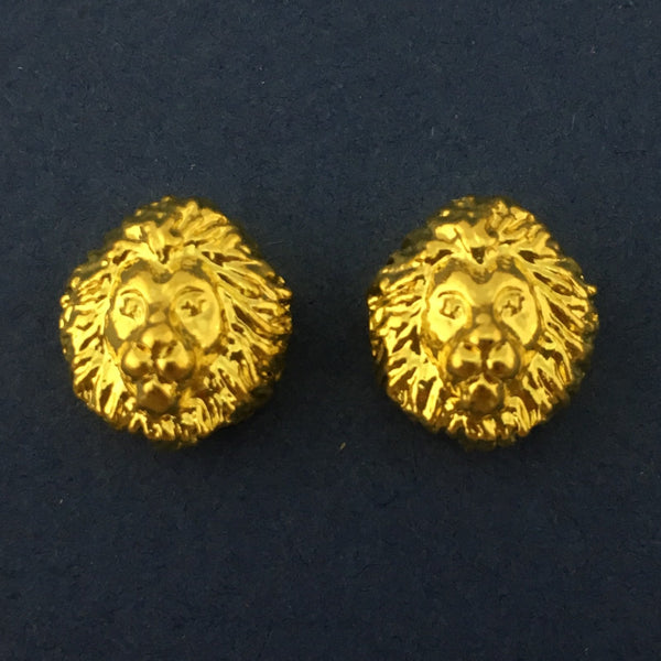 Alloy Gold Lion Bead | Bellaire Wholesale