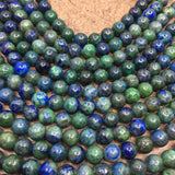 10mm Chrysocolla Beads, Lapis Beads | Fashion Jewellery Outlet