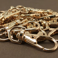 8 Gold Plated Swivel Lobster Clasps | Fashion Jewellery Outlet