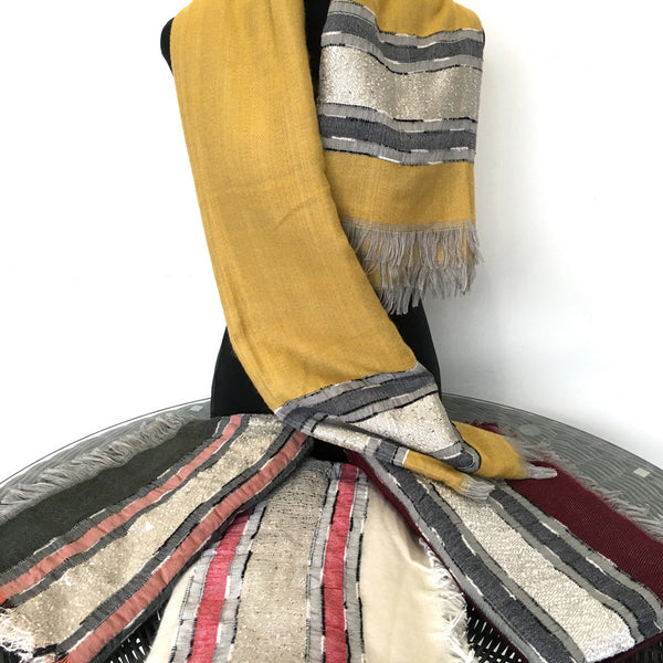 Long Blanket Scarf, 1.4 Meter Square | Fashion Jewellery Outlet