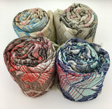 Floral Tribal Print Grey Pashmina Scarf | Fashion Jewellery Outlet