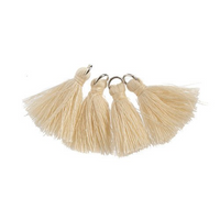 Poly Cotton Tassel, Ivory Thread Tassel, Thread | Fashion Jewellery Outlet