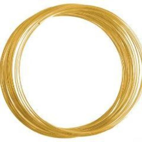 Beadalon Memory Wire Bracelet, Gold, 0.50 OZ | Fashion Jewellery Outlet
