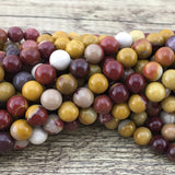 8mm Mookaite Bead | Fashion Jewellery Outlet