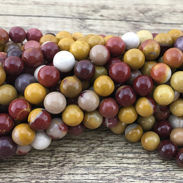 4mm Mookaite Bead | Fashion Jewellery Outlet