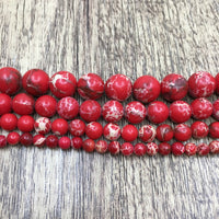 4mm Imperial Sediment Red Bead