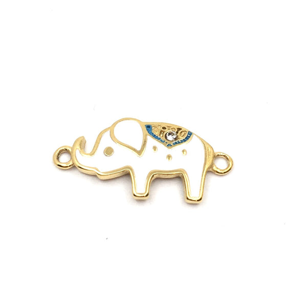 gold plated elephant connector