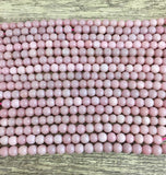 8mm Pink Opal Bead | Fashion Jewellery Outlet