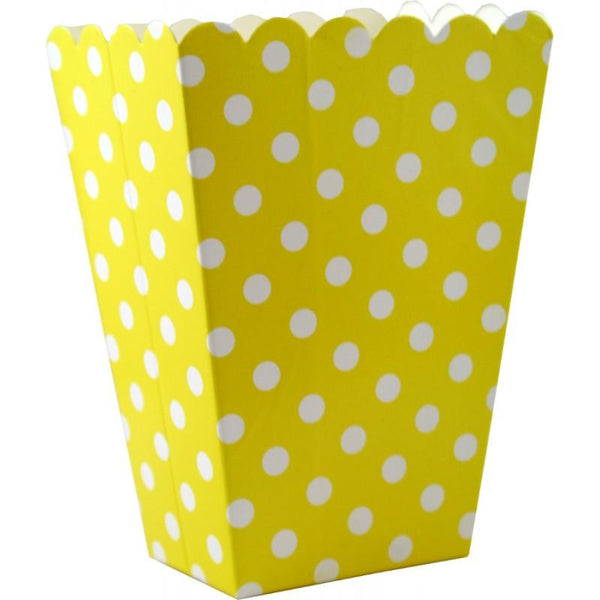 Popcorn Cup, Yellow | Fashion Jewellery Outlet