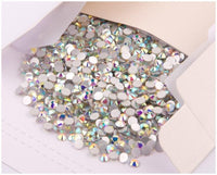 Sparkly SS20 Flatback Crystal, Clear AB | Fashion Jewellery Outlet