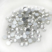 Sparkly  Flatback Crystal SS16, Clear | Fashion Jewellery Outlet
