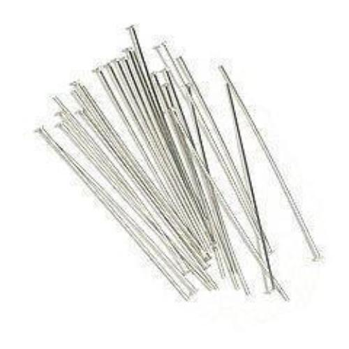 Silver Head Pins | Fashion Jewellery Outlet