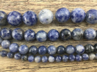 6mm Sodalite Bead | Fashion Jewellery Outlet