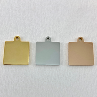 Square Charm | Fashion Jewellery Outlet